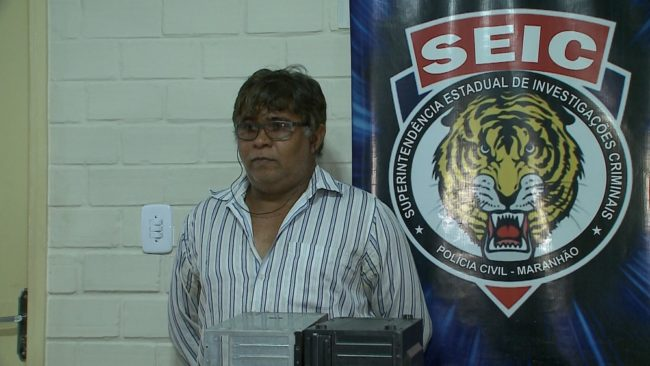 Fotografo José Carlos Mesquita Oliveira foi preso em Rosário (MA)