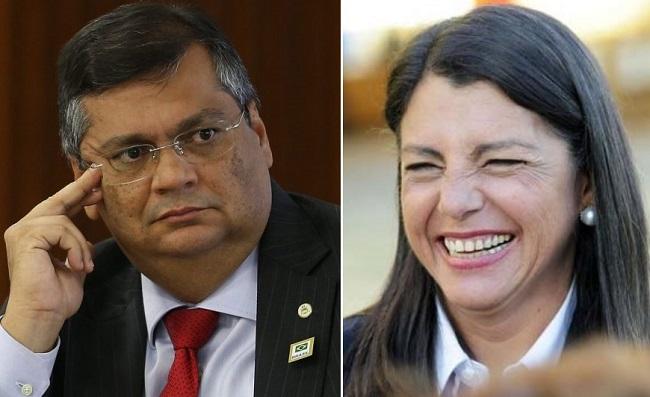 Governador Flávio Dino e a ex-governadora Roseana Sarney