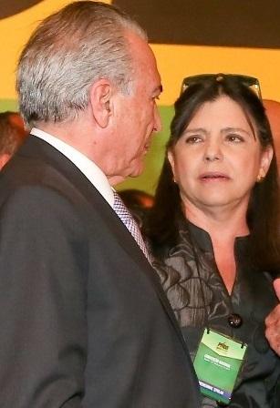 Michel Temer e Roseana Sarney
