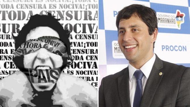 Presidente do Procon, Duarte Júnior tenta censurar jornalista