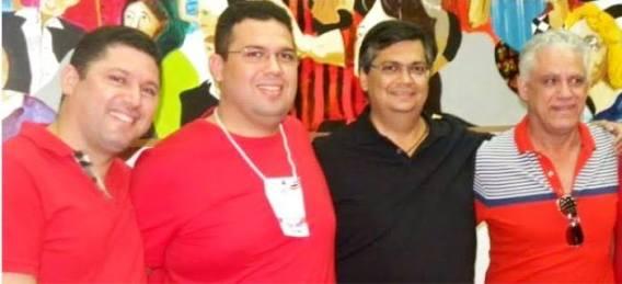 Hernando, Fábio, Flávio Dino e Dedé Macedo