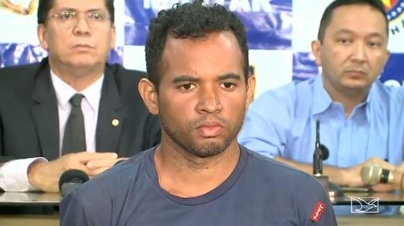 Assassino confesso Robert Serejo