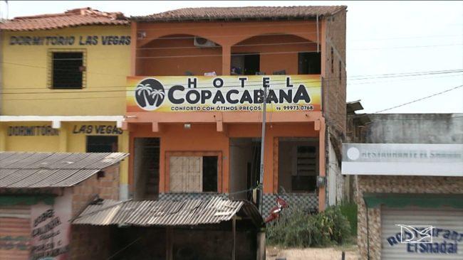 Daiane Silva Gomes trabalhava como recepcionista neste hotel