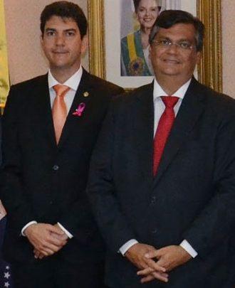 Eduardo Braide e Flávio Dino