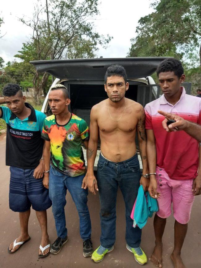 Membros da fação do Comando Vermelho (CV) presos com carro roubado em São Luís
