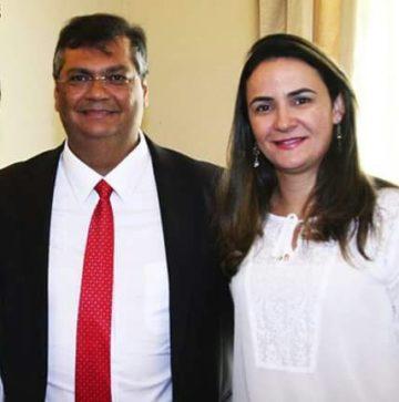 Flávio e sua esposa Daniela