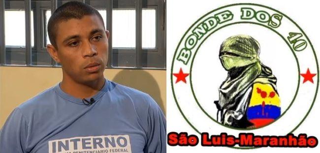 Jhonatan de Souza na mira do Bonde dos 40