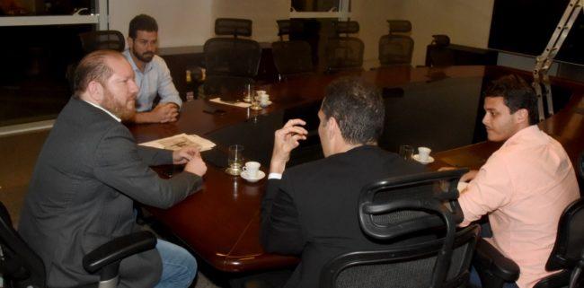 Othelino Neto, Gil Cutrim, Glalbert Cutrim e Rodrigo Lago
