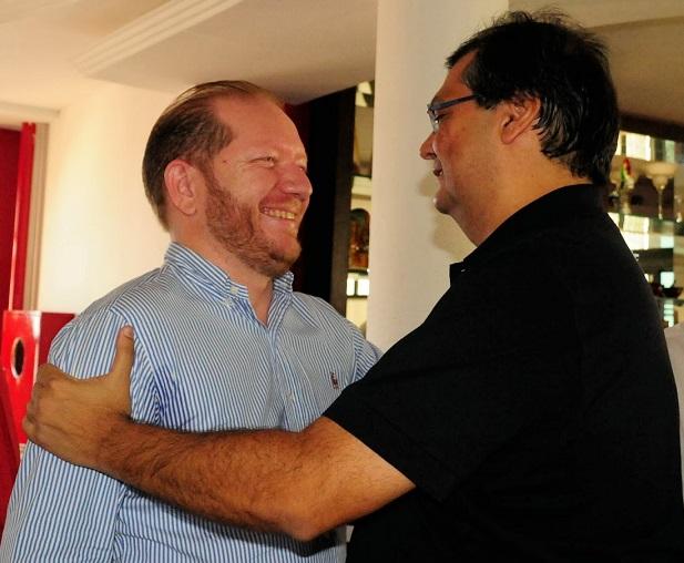 Othelino Neto e Flávio Dino