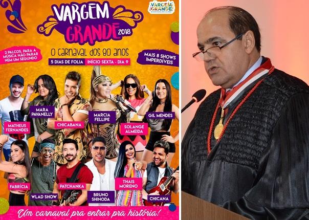 Procurador-geral Luiz Gonzaga não vai tolerar carnaval em cidade com salários atrasados