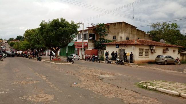 Agência dos correios em Matinha foi alvo de assalto na tarde desta terça-feira (20