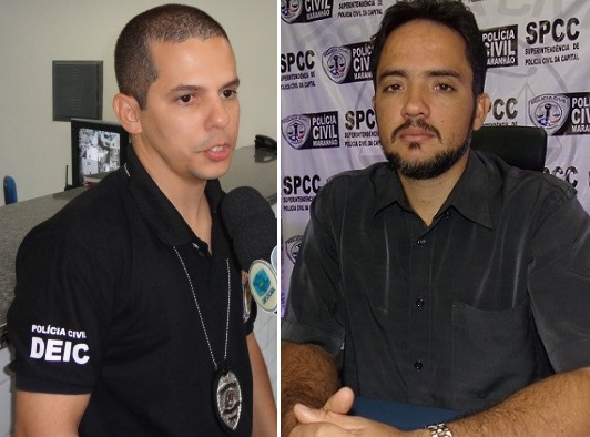 Delegados Breno Galdino e Armando Pacheco