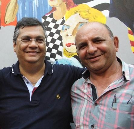 Flávio Dino e Sebastião Araújo (Ciba)