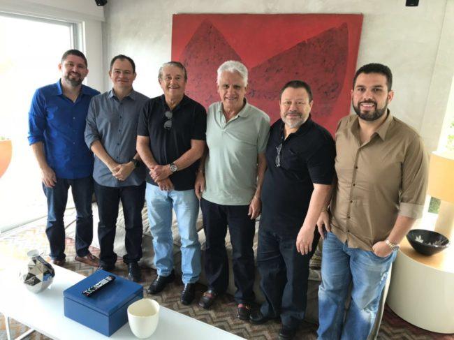 Zé Reinaldo Tavares e família Macedo