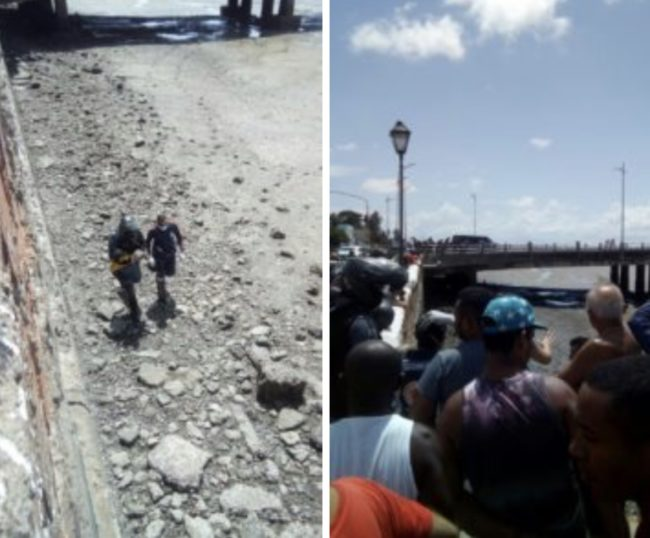 Mãe joga filho de sete meses da Ponte José Sarney