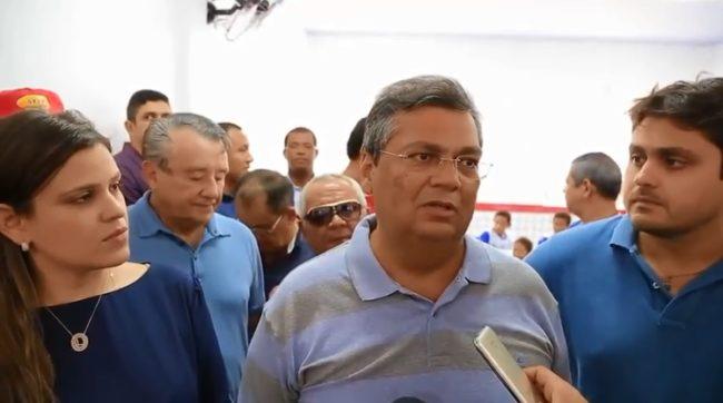Prefeita Luanna Rezende, governador Flávio Dino e o deputado Juscelino Filho