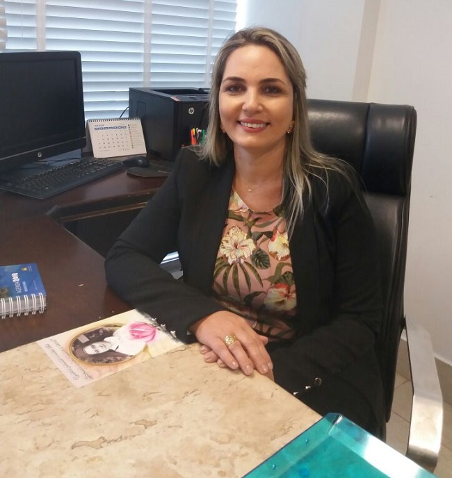 Simone Limeira, na Assembleia Legislativa