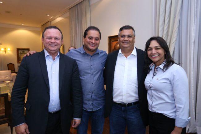 A chapa de Flávio Dino: Carlos Brandão, Weverton Rocha e Eliziane Gama