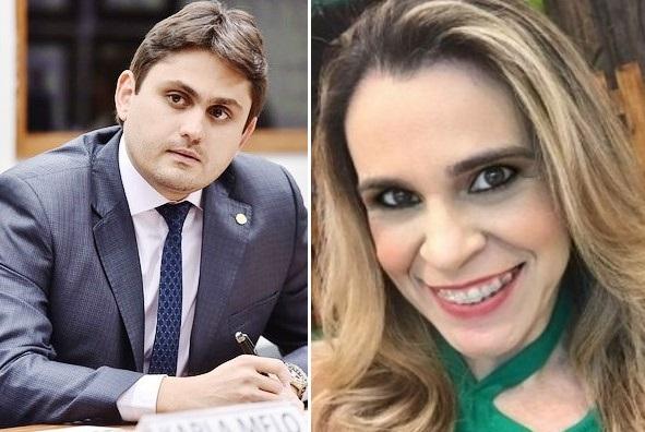 Deputado Juscelino Filho e sua ex-assessora Rochelle Coêlho