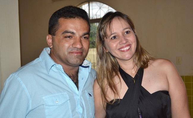 Josimar de Maranhão e a esposa Detinha