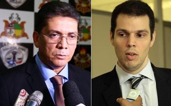 Secretários Jefferson Portela e Rodrigo Lago