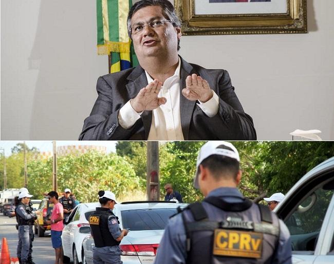 Flávio Dino recua na apreensão de veículos com atraso de IPVA no Maranhão