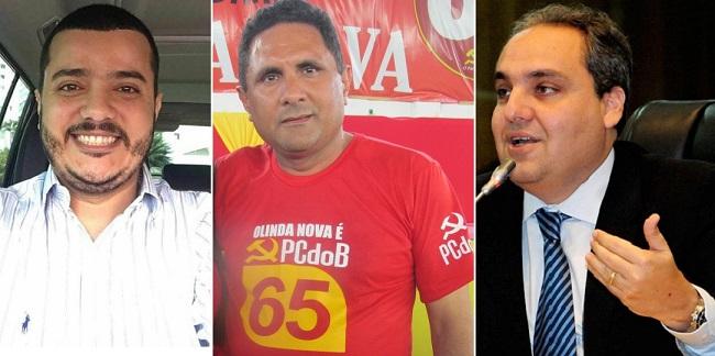 Pará Figueiredo, prefeito Costinha e Marcelo Tavares