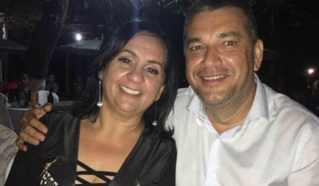 Primeira-dama e o prefeito de Buriticupu