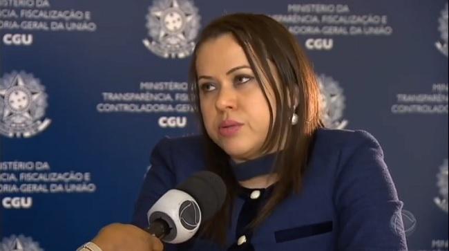 Superintendente da CGU, Leylane Maria