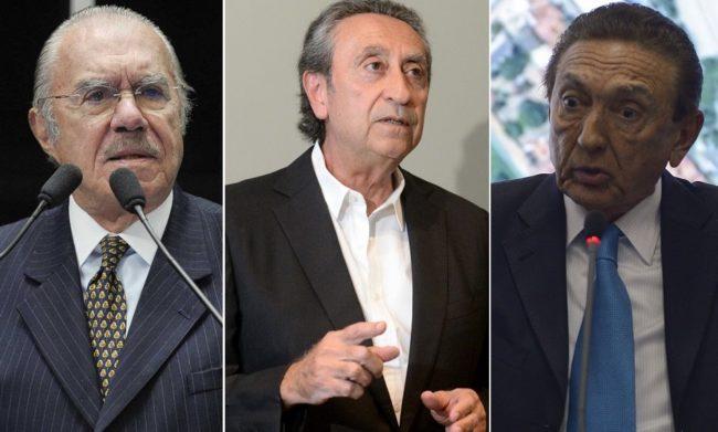 José Sarney, Ricardo Murad e Edson Lobão são alvos de ataques de Flávio Dino nas redes sociais