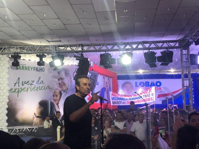 Ricardo Murad em discurso na convenção que confirmou Roseana candidata ao governo