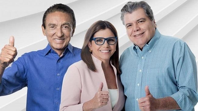 Lobão, Roseana e Sarney Filho