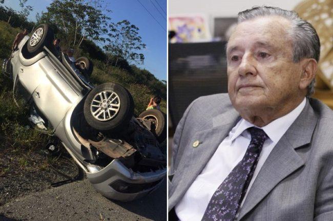 Zé Reinaldo sofre grave acidente