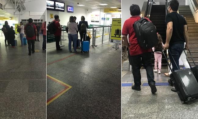 Márcio Jerry no aeroporto de São Luís-MA