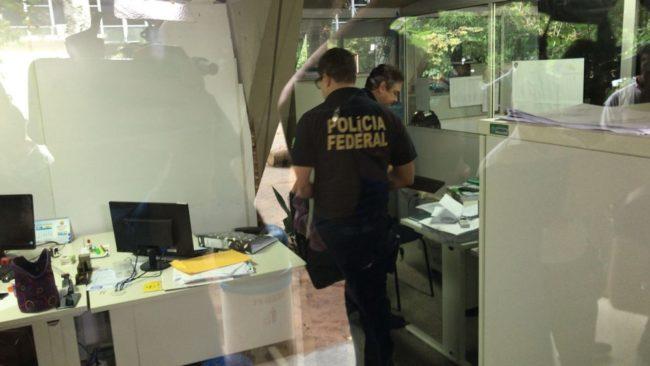 Polícia Federal cumpre mandados na Seduc, Zona Sul de Teresina