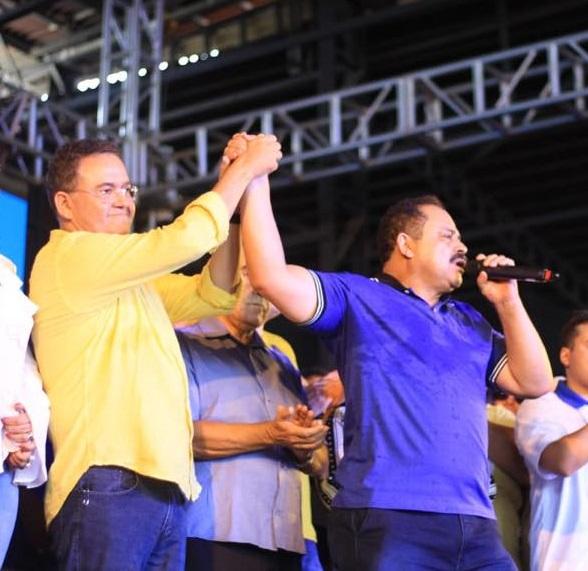 Roberto Rocha e Waldir Maranhão unidos por Alckmin no Maranhão
