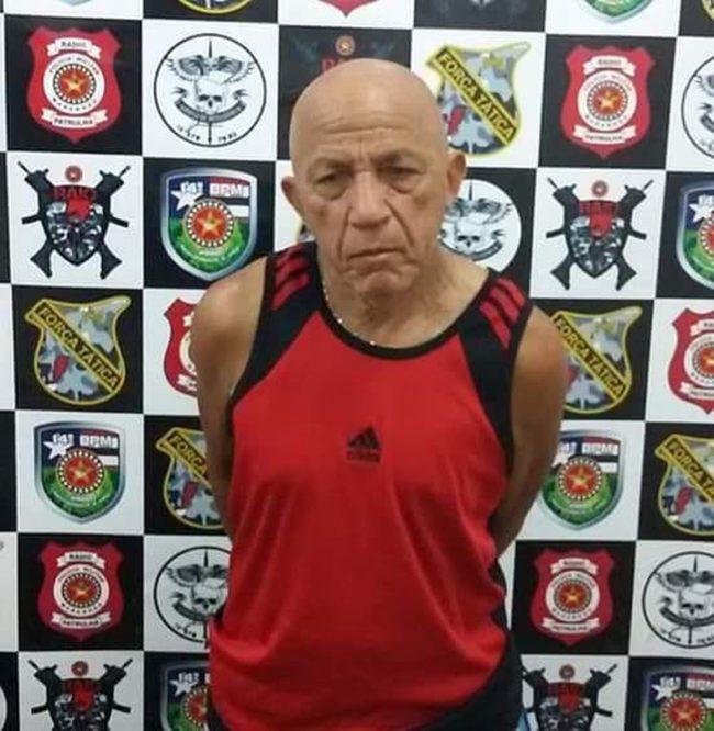 Raimundo Nonato Gomes foi preso e encaminhado para delegacia de Davinópolis