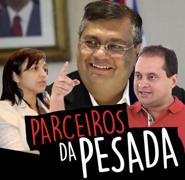 Aliados de Sarney Filho espalham vídeo denegrindo os candidatos Flávio Dino, Eliziane Gama e Weverton Rocha