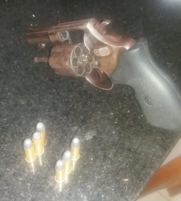 Arma utilizada por Paulo Ricardo na tentativa de homicídio