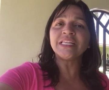 Candidata Eliziane Gama