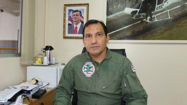 Comandante do CTA, coronel Ismael