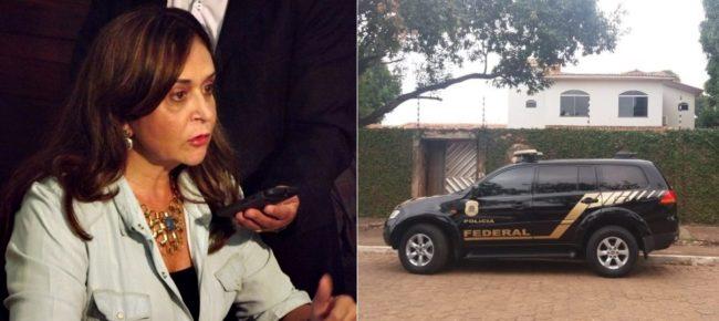 PF amanhece na porta da casa da ex-prefeita Gleide Santos