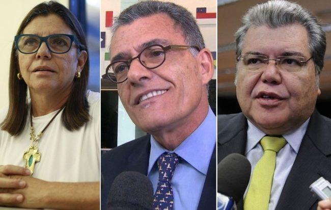 Roseana, Fernando e Sarney Filho: irmãos unidos para derrubar Lobão