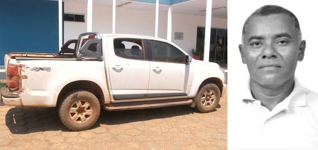Veículo clonado foi encontrado pela polícia no bairro Bacaba em Balsas com vereador Jotacy