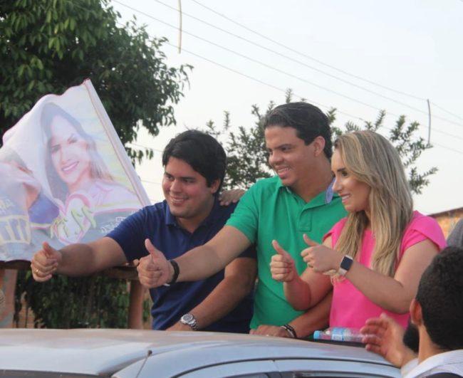 Fufuca, Luciano e Thaiza Hortegal