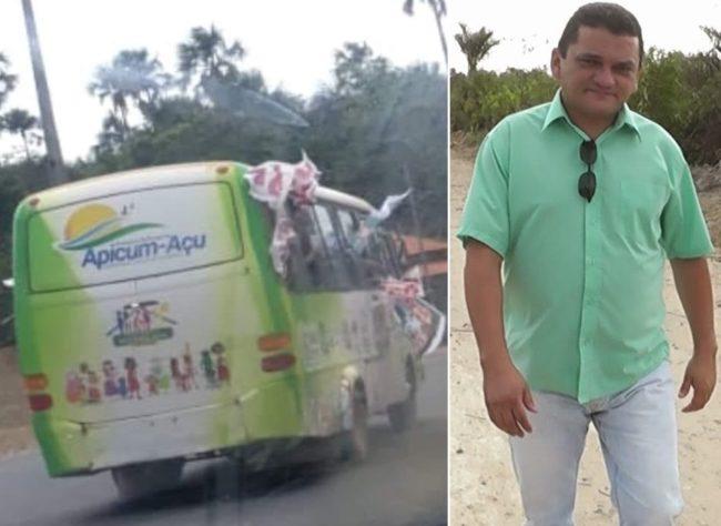 Em Apicum-Açu, prefeito Claudio Cunha comete crime eleitoral