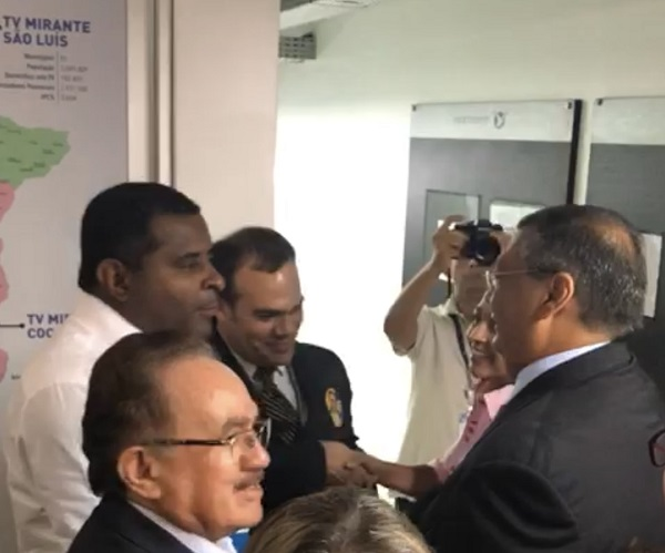 Fábio Câmara e Flávio Dino trocam farpas na saída de Mirante