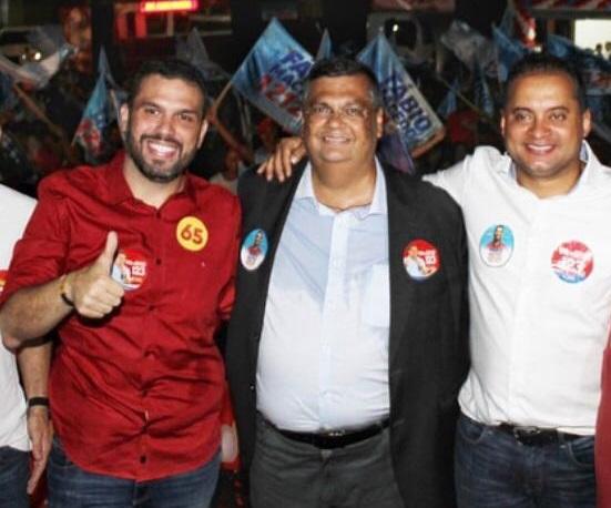 Fábio Macedo, Flávio Dino e Weverton Rocha