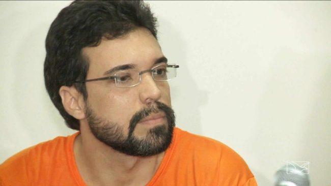 Lucas Porto, acusado pelo assassinato