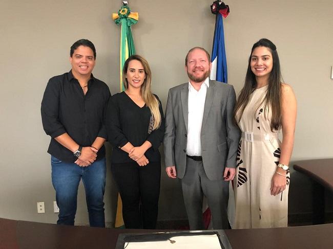 Luciano, Thaiza Hortegal, Othelino e Ana Paula Lobato